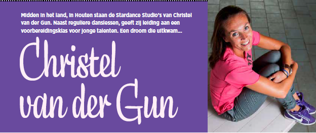 Christel In Dans Magazine