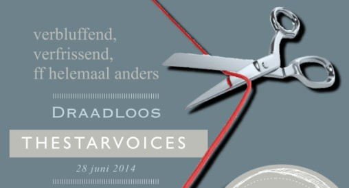 aankondiging voorstelling Draadloos van The Starvoices